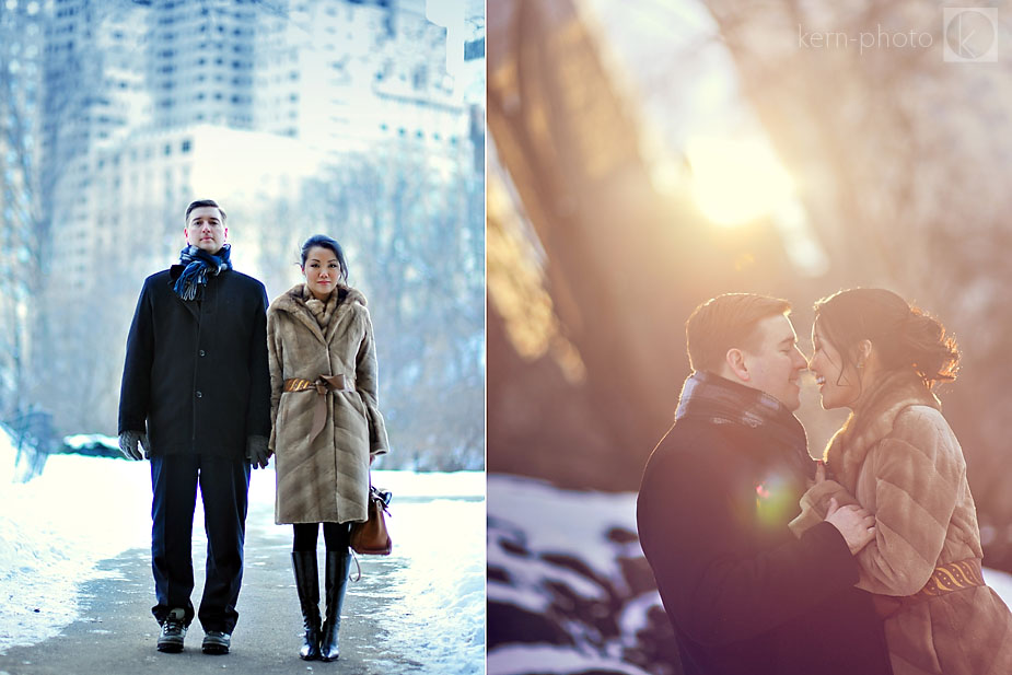 Amy Amp Sean A New York City Engagement Session Kern