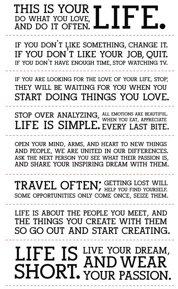 the gem they created wpid holstee manifesto 2011 08 4 20 49 - Do What You Love How To Find What You Love To Do